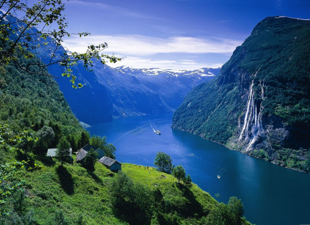 Natural Wonders,geirangerfjord-s