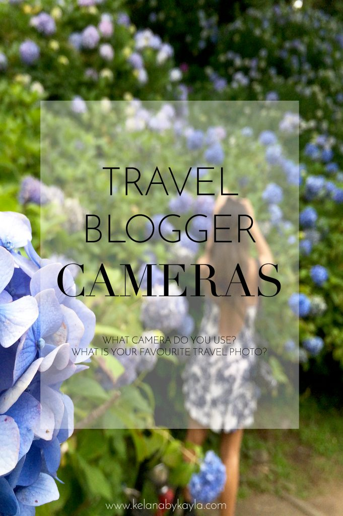 Travel Blogger's Cameras