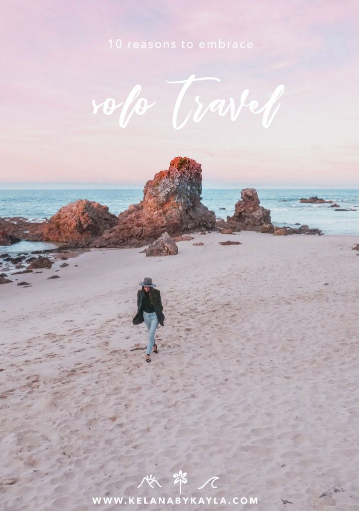 reasons to solo travel