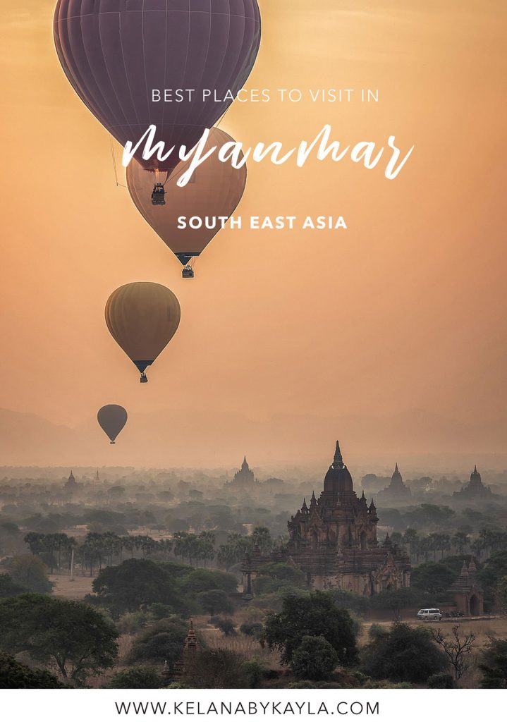 st places to visit in Myanmar