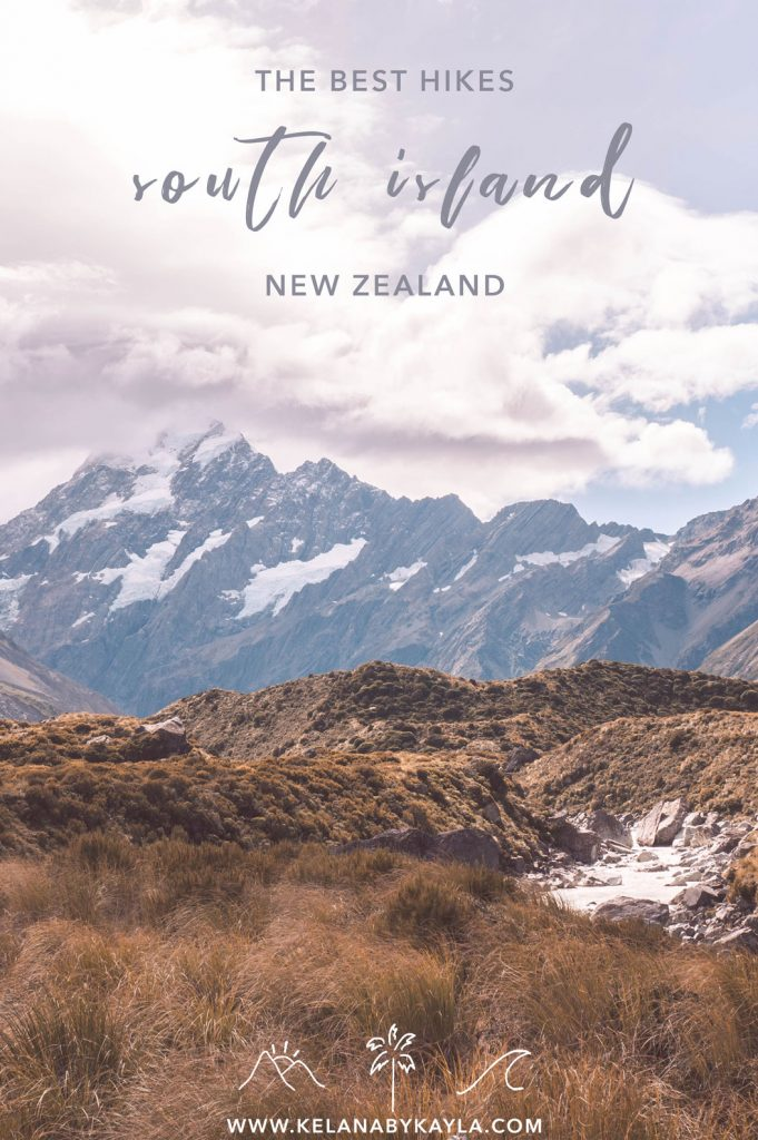 hiking New Zealand South Island