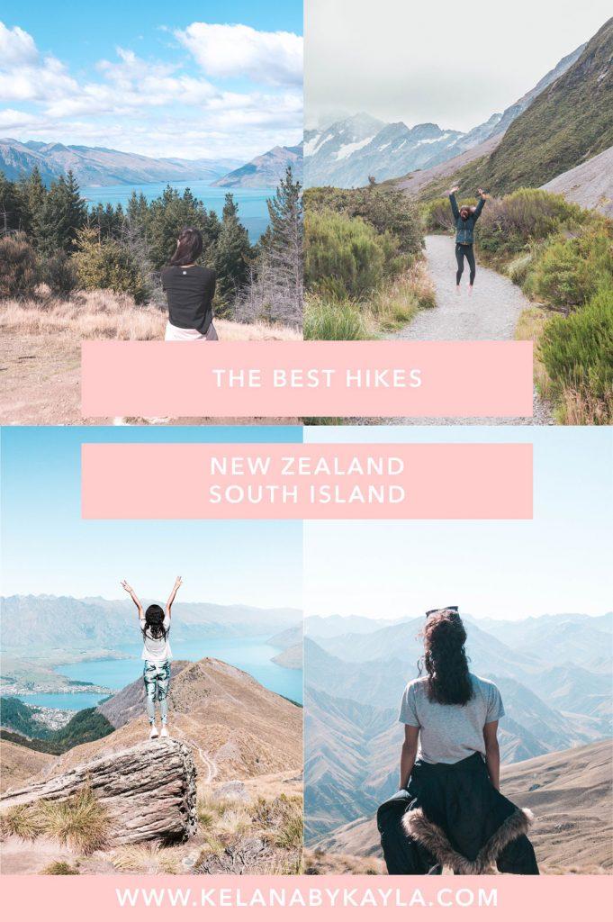 hiking New Zealand South Island