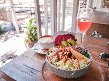 Poke Bowl at Milu by Nook | Bali Itinerary