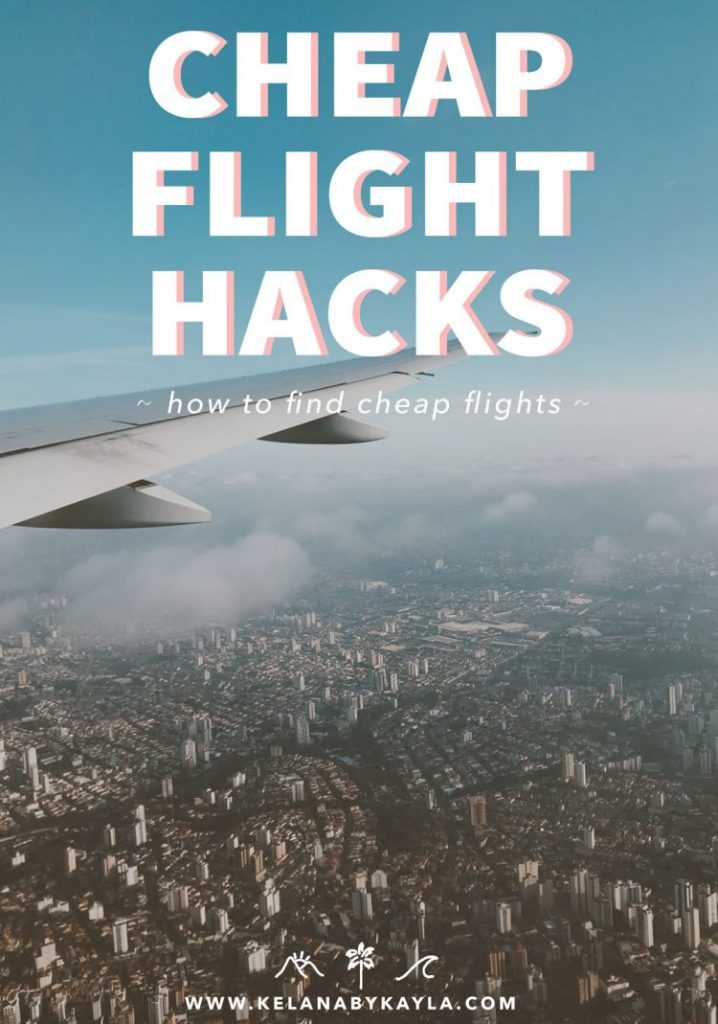 How to find cheap flights