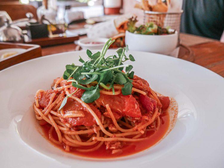 Crab Spaghetti | Ja'Jan Bistro