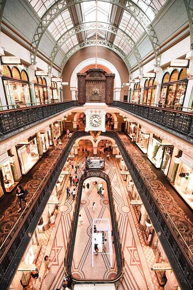 Queen Victoria Building | Sydney Itinerary for 4 days