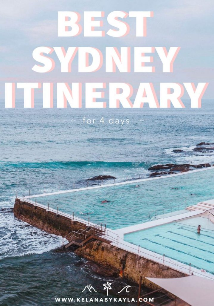 Sydney Itinerary for 4 days