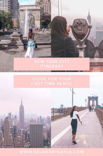 New York Itinerary 4 days