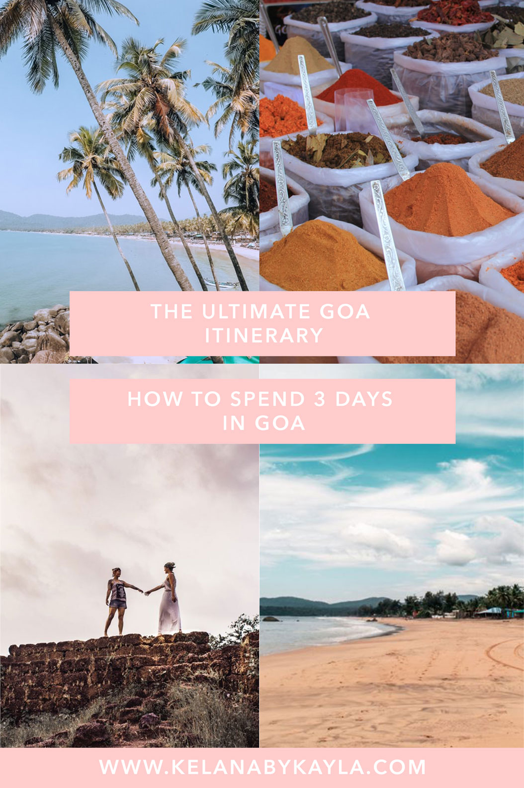 Goa Itinerary for 3 Days