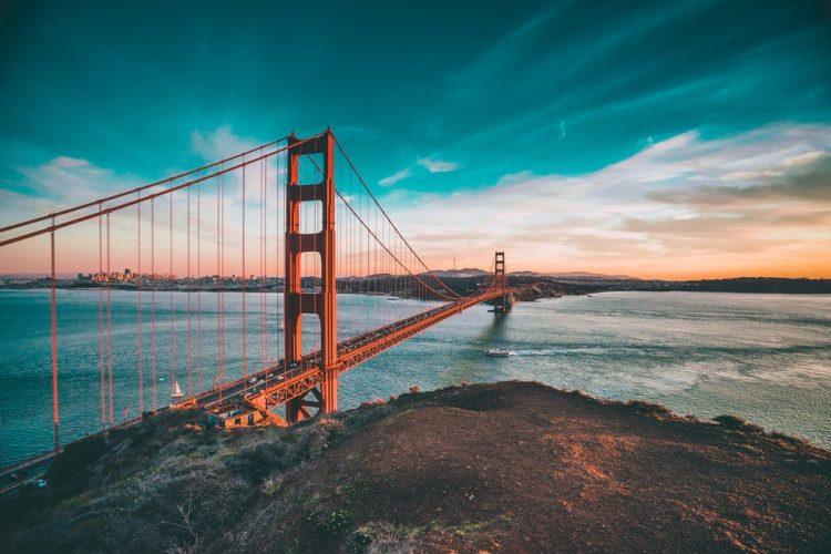 Golden Gate Bridge in San Francisco USA Bucket List
