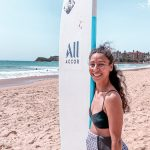 Manly Surf Lesson with Accor Hotels and Sally Fitzgibbons